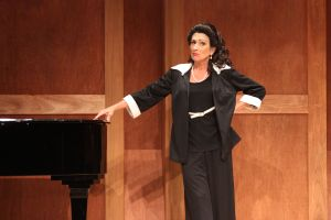 "Marina Re as Maria Callas in ""Master Class"""
