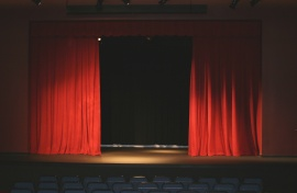 The Norris Center stage