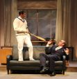 Shawn Fagan and Ian Merrill Peakes in Gulfshore Playhouse's production of Something Intangible