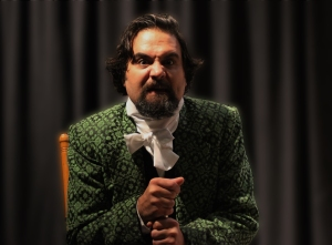 Cody Nickell in Gulfshore Playhouse's production of Jacob Marley's Christmas Carol
