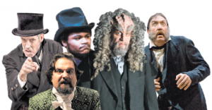 Just a few of the Scrooges featured in the New York Times