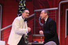 Cody Nickell and Christopher Gerson in Ken Ludwig's THE GAME'S AFOOT