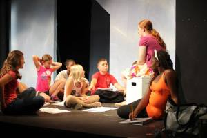 Leah Schaeffer teaches students during the 2014 STAR Summer Camps