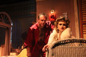 Adam McNulty and Claire Brownell in A Streetcar Named Desire