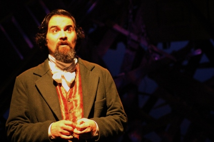 Cody Nickell in JACOB MARLEY'S CHRISTMAS CAROL. Photographer- Pedro Zepeda. (4)