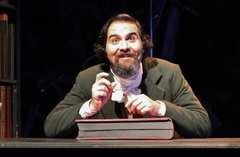 Cody Nickell in JACOB MARLEY'S CHRISTMAS CAROL. Photographer- Pedro Zepeda. (6)
