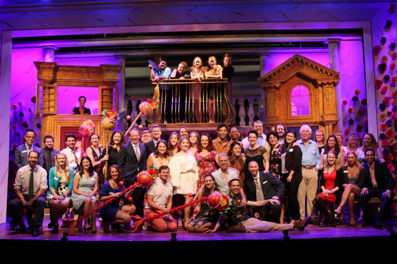 Gulfshore Playhouse Staff at A Funny Thing Happened on the Way to the Forum (2018) Opening Night. Photographer_ Pete Zepeda (1)